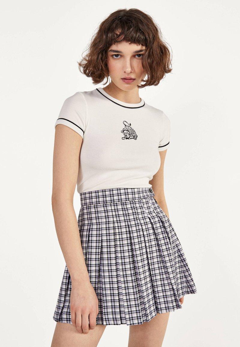 Bershka - T-Shirt print - white