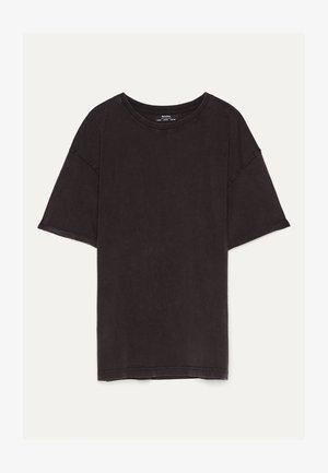 MIT KURZEN ÄRMELN - T-paita - dark grey