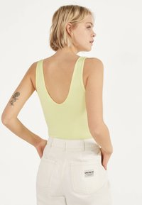 Bershka - Top - yellow - 2