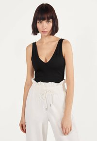 Bershka - Top - black - 0