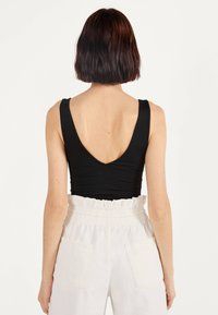 Bershka - Top - black - 2