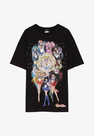 SHIRT SAILOR MOON 01961167 - Triko s potiskem - black