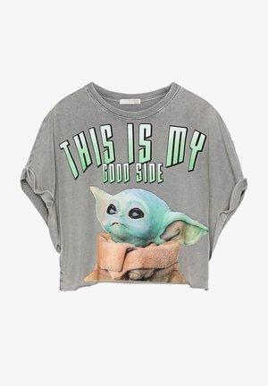 SWEATSHIRT YODA - T-shirt imprimé - grey