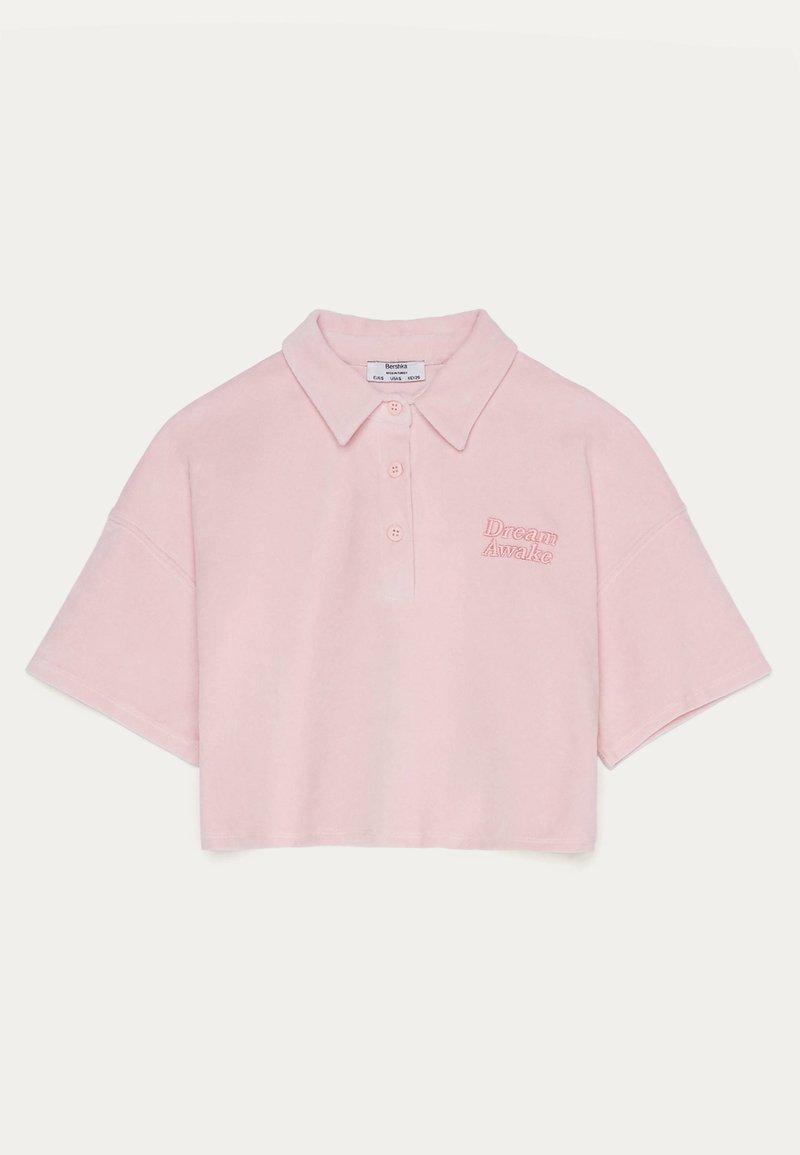 Bershka - T-Shirt print - pink