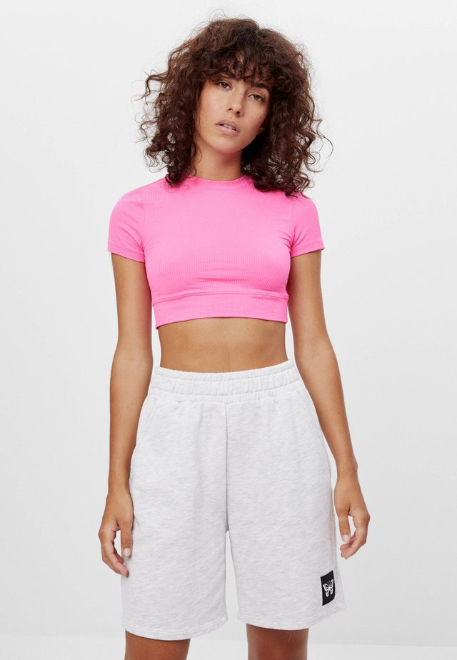 FUNKTIONS - T-Shirt basic - neon pink