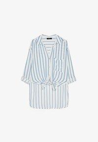Bershka - MIT PRINT  - Overhemdblouse - light blue - 5