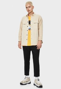Bershka - Overhemd - beige - 1