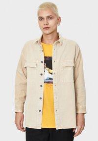 Bershka - Overhemd - beige - 0