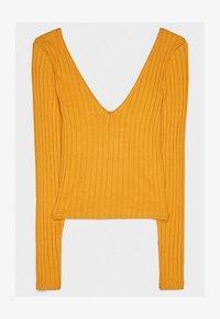 Bershka - Strickpullover - mustard yellow - 5