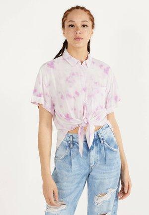 MIT KNOTEN  - Košile - pink