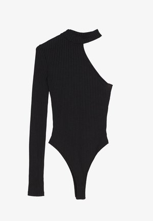 ASYMMETRISCHES BODY - Longsleeve - black