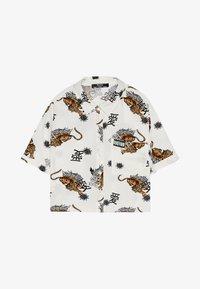 Bershka - Button-down blouse - white - 4