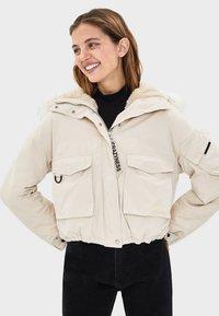 Bershka - Winter jacket - offwhite - 0