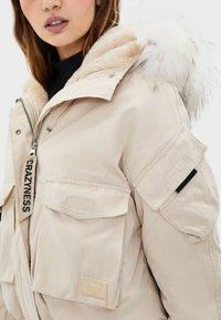 Bershka - Winter jacket - offwhite - 3