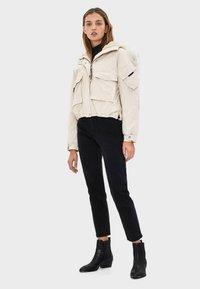 Bershka - Winter jacket - offwhite - 1