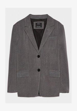 Krótki płaszcz - grey