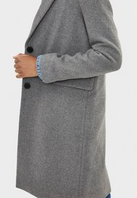 Bershka - Manteau classique - dark grey - 3