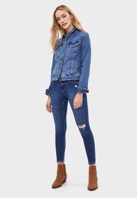Bershka - Kurtka jeansowa - light blue - 1
