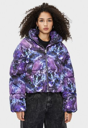JACKE MIT PRINT 01234512 - Winter jacket - mauve