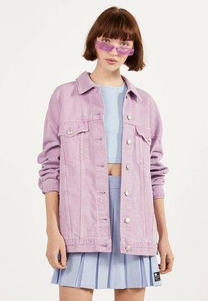 OVERSIZE-JEANSJACKE 01110335 - Giacca di jeans - mauve