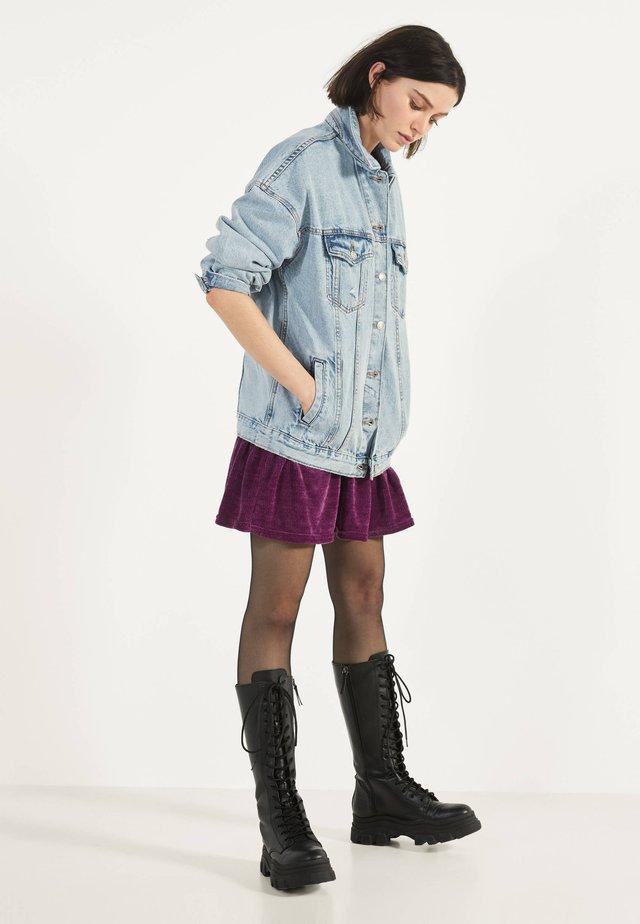 OVERSIZE-JEANSJACKE 01110335 - Kurtka jeansowa - blue