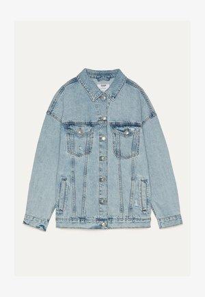 OVERSIZE-JEANSJACKE 01110335 - Veste en jean - blue