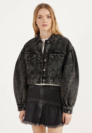 CROPPED-JEANSJACKE 01114335 - Veste en jean - black