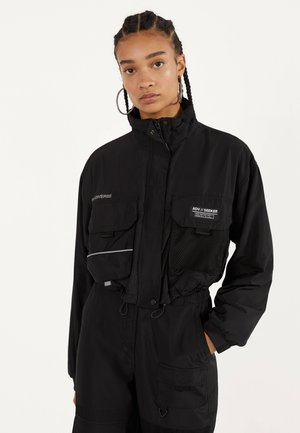 REFLEKTIERENDE JACKE 01240551 - Summer jacket - black