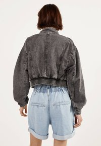 Bershka - Denim jacket - grey - 2