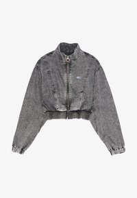 Bershka - Denim jacket - grey - 4