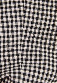 Bershka - MIT PUFFÄRMELN 00989168 - Blazer - dark grey - 4