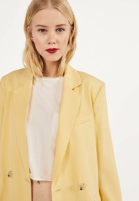 Bershka - Blazer - yellow - 3