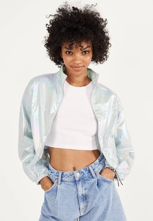 CHANGIERENDE - Bomber Jacket - light blue