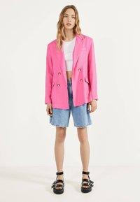 Bershka - Blazer - neon pink - 1