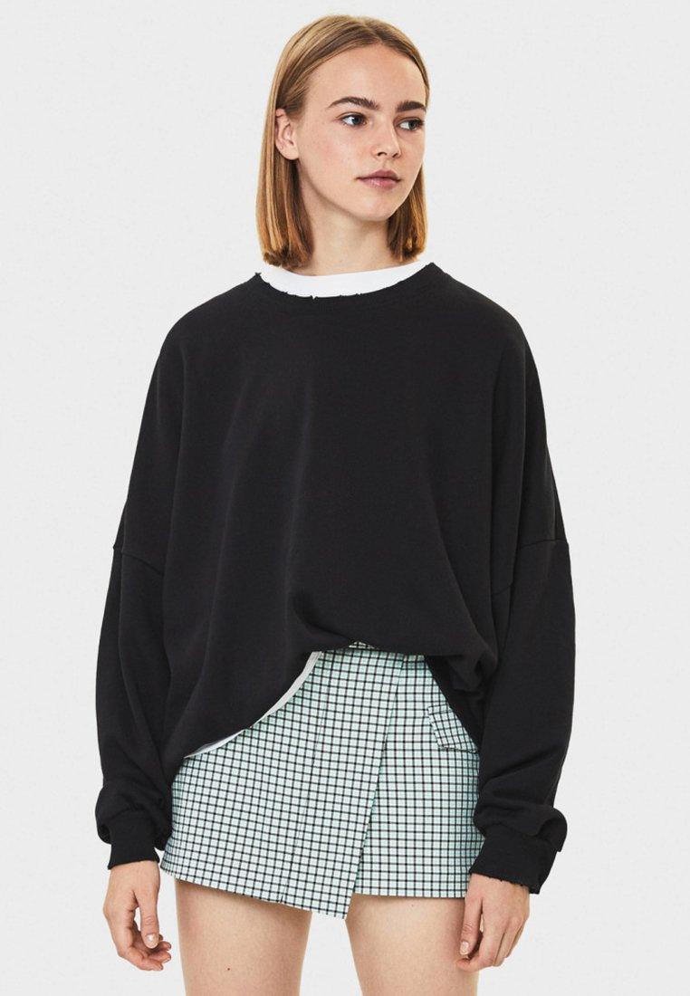 Bershka - Pullover - black