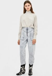 Bershka - Trui - light grey - 1