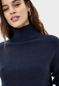 Bershka - Trui - dark blue - 3