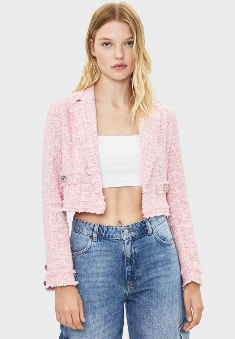 Bershka - Blazer - pink