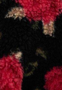Bershka - MIT BAUCHTASCHE - Fleece jumper - neon pink - 4