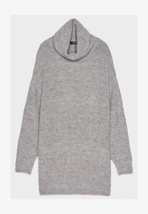 MIT ROLLKRAGEN  - Trui - light grey