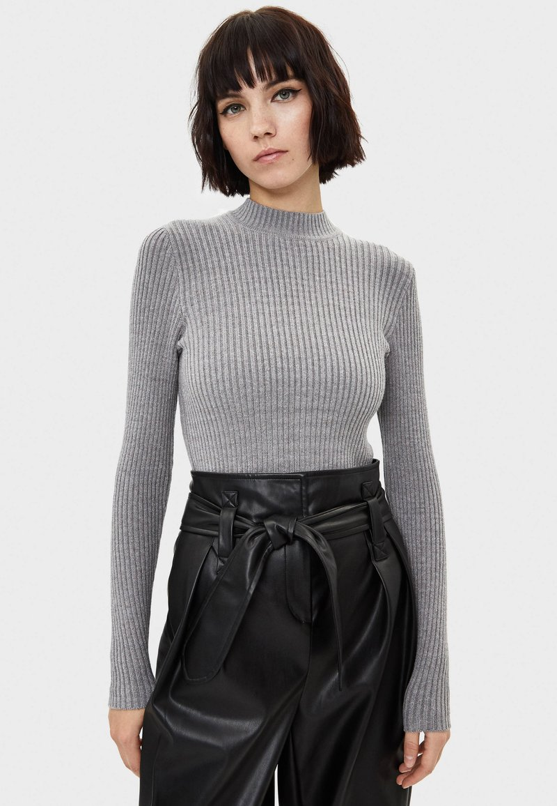 Bershka - Maglione - light grey