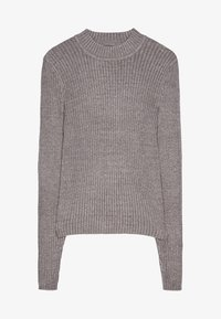 Bershka - Maglione - light grey - 5