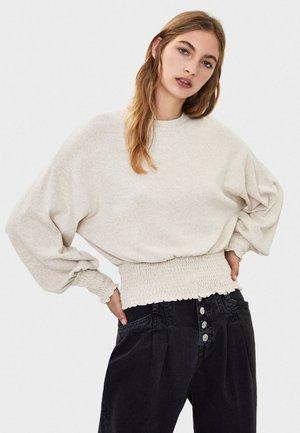 GESMOKTER PULLOVER 01632831 - Sweter - beige