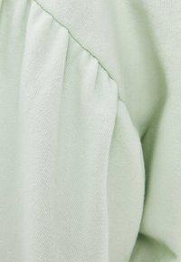 Bershka - PULLOVER MIT BALLONÄRMELN 01610498 - Sweatshirt - green - 4