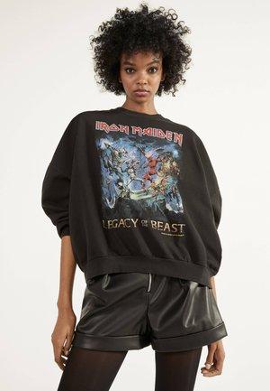 "SWEATSHIRT ""IRON MAIDEN"" 01674033 - Sweatshirt - black"