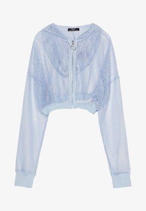 Kurtka wiosenna - light blue