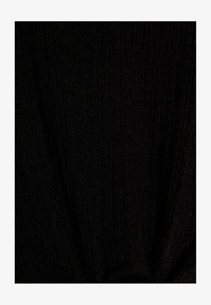 MIT ZIERKNOTEN - T-shirts print - black