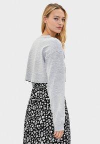 Bershka - Sweater - light grey - 2