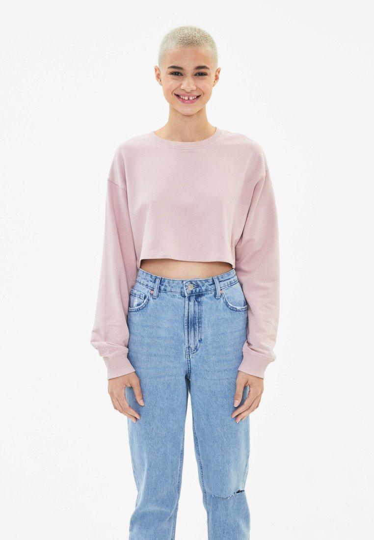 Bershka - Sweater - rose