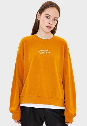 Sweatshirts - mustard yellow